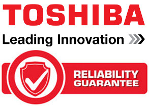 TOSHIBA Reliability Guarantee!
