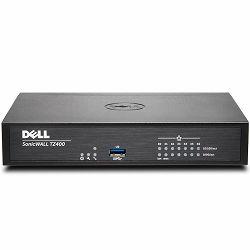 SONICWALL TZ400, (1GB RAM, 64MB FLASH), SMB firewall, 7X1GBE, 1 USB, 1 Console, no service