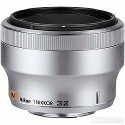 1 NIKKOR 32mm f/1.2 Silver