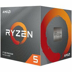 AMD CPU Desktop Ryzen 5 6C/12T 3600XT (4.5GHz Max Boost,36MB,95W,AM4) box with Wraith Spire cooler