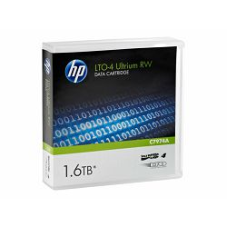 HPE LTO4 Ultrium Data Cartridge 1,6TB, C7974A