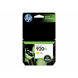 HP 920XL ink yellow, CD974AE
