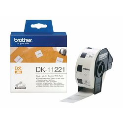 BROTHER DK11221 SQUARE LABEL 23X23MM