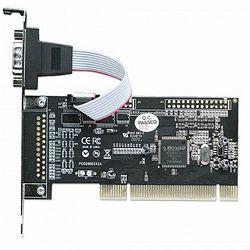 Serial PCI Card, One External DB9 Port