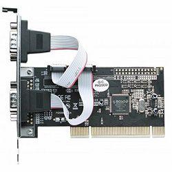 Serial PCI Card, Two External DB9 Ports