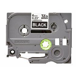 BROTHER TZE315 tape white/black 6mm 8m