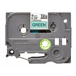 BROTHER TZE721 tape black/green 9mm 8m