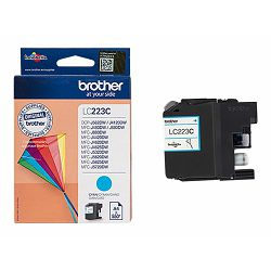 BROTHER LC223C ink cyan 550pages Black