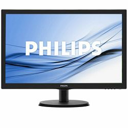 Monitor LED PHILIPS V-Line 223V5LHSB/00 (21.5, TN, 16.9, 1920x1080, 5ms, 10M:1, 250 cd/m2, VGA, HDMI, VESA) Black