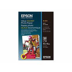EPSON Value Photo Paper 10x15cm 20 sheet, C13S400037