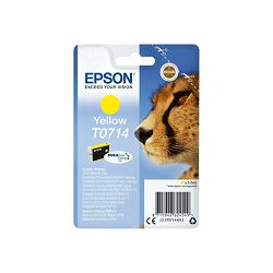 EPSON ink T071 yellow blister, C13T07144022