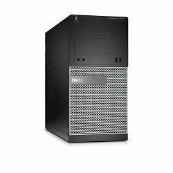 Dell Optiplex 3020 MT - Intel Pentium G3250 3.2GHz / 4GB RAM / 500GB HDD / Intel HD / Windows 7/10 Pro 64 / Dell USB keyboard & mouse
