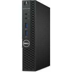 Dell Optiplex 3050 Micro - Intel i3-7100T 3.4GHz / 4GB RAM / SSD 128GB / Intel HD 630 / WLAN / Windows 10 Pro / Dell USB keyboard & mouse