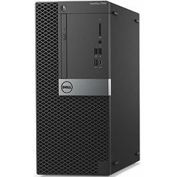 Dell OptiPlex 7050 MT - Intel i7-7700 4.2GHz / 8GB RAM / 1TB HDD / Radeon R7-450-4GB / VGA-PORT / Windows 10 Pro / Dell USB keyboard & mouse