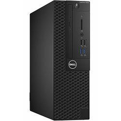 Dell OptiPlex 3050 SFF - Intel i3-7100 3.9GHz / 4GB RAM / SSD 128GB / Intel HD 630 / VGA port / Ubuntu / Dell USB keyboard mouse