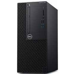 Dell OptiPlex 3060 MT - Intel i3-8100 3.6GHz / 4GB RAM / SSD 256GB / Intel UHD 630 / Ubuntu / Dell USB keyboard & mouse
