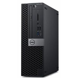 Dell OptiPlex 5060 SFF - Intel i5-8500 4.1GHz / 8GB RAM / SSD 256GB / Intel UHD 630 / Windows 10 Pro / Dell USB keyboard & mouse