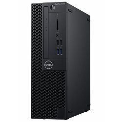Dell OptiPlex 3060 SFF - Intel i3-8100 3.6GHz / 8GB RAM / SSD 256GB / Intel UHD 630 / Ubuntu / Dell USB keyboard & mouse