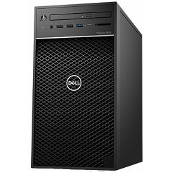 Dell Precision T3630 - Intel i7-8700 4.6GHz / 8GB RAM / M.2-PCIe SSD 256GB / 1TB HDD / nVidia Quadro P1000-4GB / 460W / Windows 10 Pro