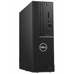 Dell Precision 3430 SFF - Intel i5-8500 4.1GHz / 8GB RAM / m.2 SSD 256GB / Intel UHD 630 / 200W / Ubuntu / Dell USB keyboard and mouse