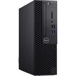 Dell OptiPlex 3070 SFF - Intel i3-9100 4.2GHz / 8GB RAM / M.2-PCIe SSD 256GB / Intel UHD 630 / Windows 10 Pro / DELL tipkovnica i miš