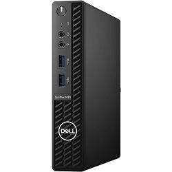 Dell OptiPlex 3080 Micro - Intel i3-10100T 3.8GHz / 8GB RAM / M.2-PCIe SSD 256GB / Intel UHD 630 / WLAN / Ubuntu