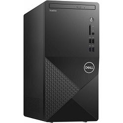 Dell Vostro 3888, Intel i5-10400 4.3GHz, 8GB RAM, SSD 512GB M.2 PCIe NVMe, Intel UHD 630, DVD RW, WLAN + BT, HDMI/VGA, SD CR, KYB+MOUSE, Linux, 3Y