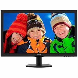 Monitor LED Philips 273V5LHAB/00, V-line, 27 1920x1080@60Hz, 16:9, TN, 1ms, 300nits,  Black, 2 Years, VESA100x100/VGA/DVI/HDMI