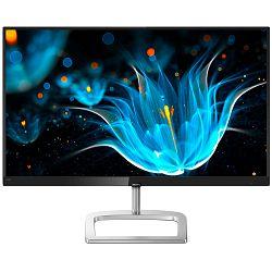 Monitor LED Philips 276E9QDSB/00, E-line, 27 1920x1080@60Hz, 16:9, IPS tech., 5ms, 250nits, Black, 2 Years, VESA100x100/VGA/DVI/HDMI/