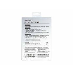 SAMSUNG SSD 1TB T5 External USB 3 Black, MU-PA1T0B/EU