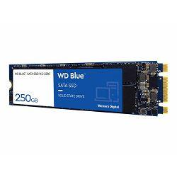 WD Blue SSD 3D NAND 250GB M.2 2280, WDS250G2B0B