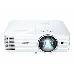 Acer S1386WHN - DLP projector - 3D - 3600 lumens - WXGA (1280 x 800) - 16:10 - 720p, MR.JQH11.001