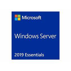 Microsoft Windows Server 2019 Essentials - Licence - 1 server (1-2 CPU) - OEM - DVD - 64-bit - English, G3S-01299