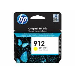 HP 912 Yellow Ink Cartridge, 3YL79AE