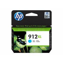 HP 912XL High Yield Cyan Ink, 3YL81AE