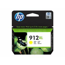 HP 912XL High Yield Yellow Ink, 3YL83AE