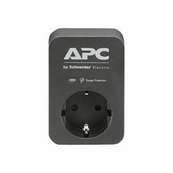 APC SurgeArrest 1 Outlet Black 230V, PME1WB-GR