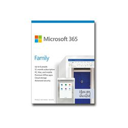 MS 365 Family EuroZone Subscr 1YR (EN), 6GQ-01150