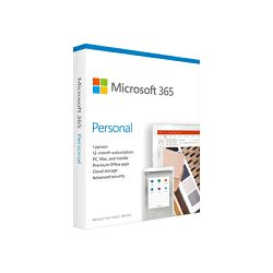 MS Office 365 Personal EuroZone Subscr 1YR (EN), QQ2-00989