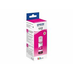 EPSON 112 EcoTank Pigment Magenta ink, C13T06C34A