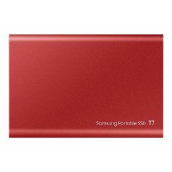SAMSUNG Portable SSD T7 2TB red, MU-PC2T0R/WW