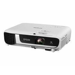 EPSON EB-W51 3LCD Projector WXGA 4000Lm, V11H977040 - portable - 4000 lumens (white) - 4000 lumens (colour) - WXGA (1280 x 800) - 16:10 - 720p