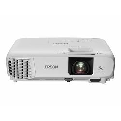 EPSON EH-TW740 3LCD projector portable, V11H979040 - portable - 3300 lumens (white) - 3300 lumens (colour) - Full HD (1920 x 1080) - 16:9 - 1080p - Miracast