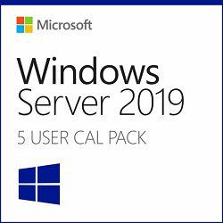 Microsoft Windows Server 2019 User CALs 5-pack