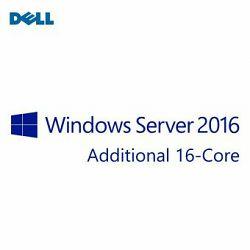 Microsoft Windows Server 2016 Standard Ed,Additional Lic,ROK,16CORE,NoMedia