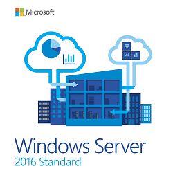 Microsoft Windows Server 2016 Standard ROK 16CORE