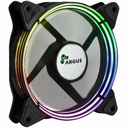 INTER-TECH Cooling Fan Argus Valo 1201, 120mm LED, RGB, 4Pin PWM