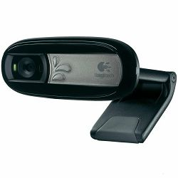 LOGITECH Webcam C170 - EMEA - BLACK