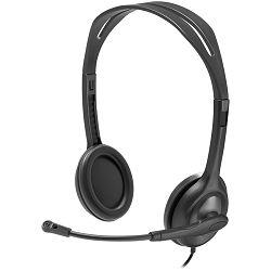 LOGITECH Stereo Headset H111 – EMEA - One Plug