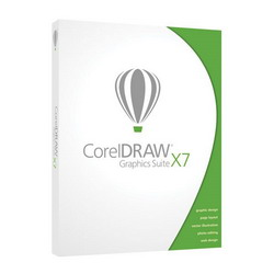 CorelDraw Graphics Suite X7 DVD BOX